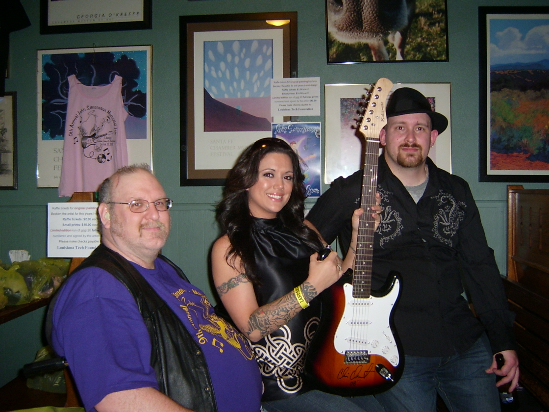 Me, Asia, the Chris Duarte Strat and Ryan Munsey